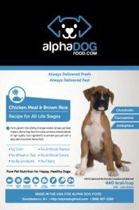 Alpha Dog Chicken Meal
